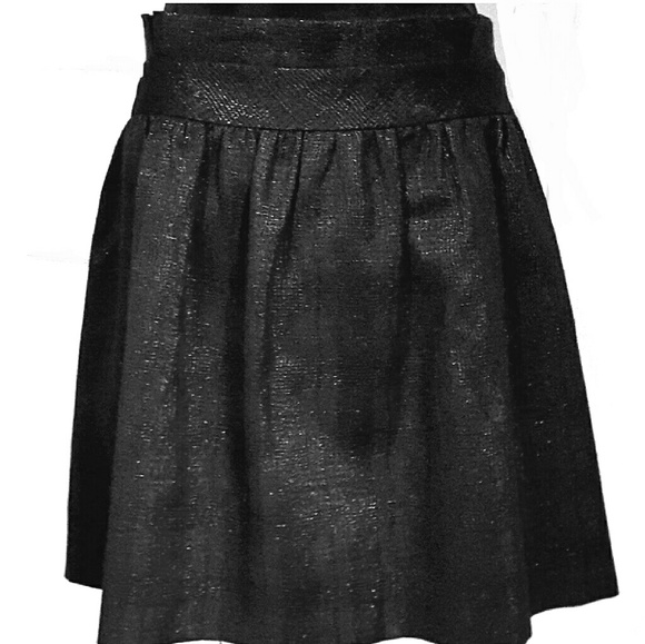 8a24c057ae Daniel Cremieux Dresses & Skirts - Cremiuex Black Shimmery Skirt with  Pockets EUC